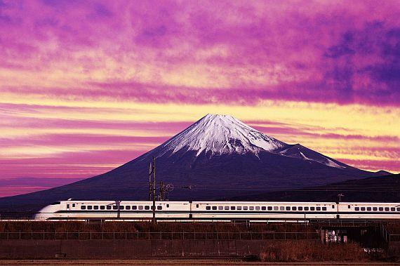 Гора в Японии - Фудзияма