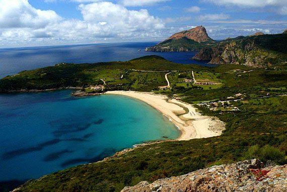 Пляжи острова Корсика