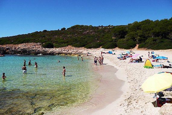 пляж Cala Varques