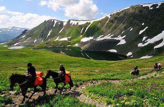 Алтай туристические маршруты конные