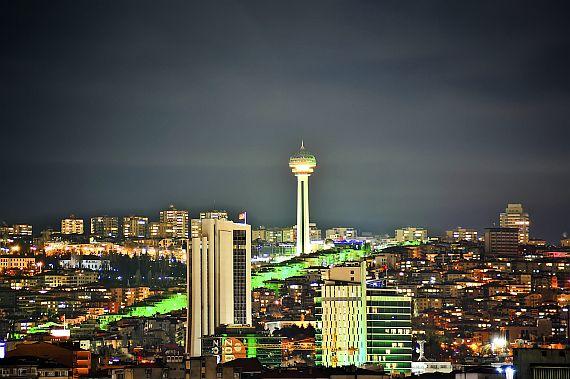 Анкара столица Турции