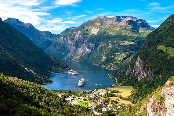 Фьорды Норвегии - удивительные места!
