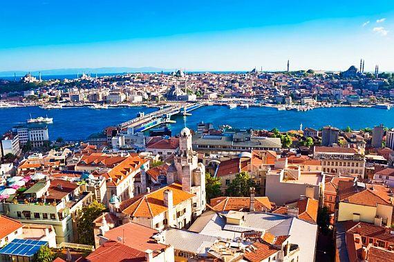 Город Стамбул. Турция