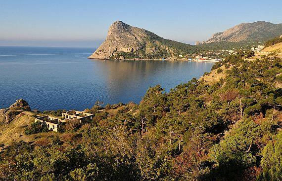 Крым во время отпуска