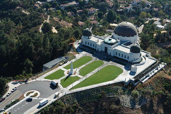 Обсерватория Гриффита в Лос Анджелесе
