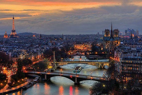 Популярные достопримечательности Франции
