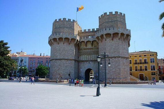 Валенсия старый город