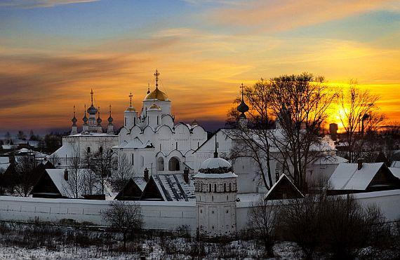 Суздаль город Золотого Кольца России