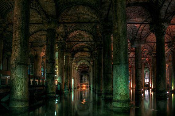 Цистерна Базилика в Стамбуле - Интересная Турция