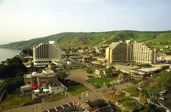 Тверия город курорт