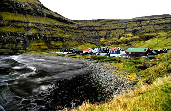 Фарерские острова дома