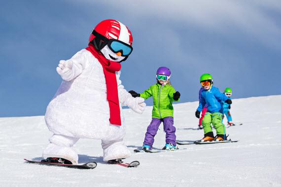 Куда отправить детей зимой