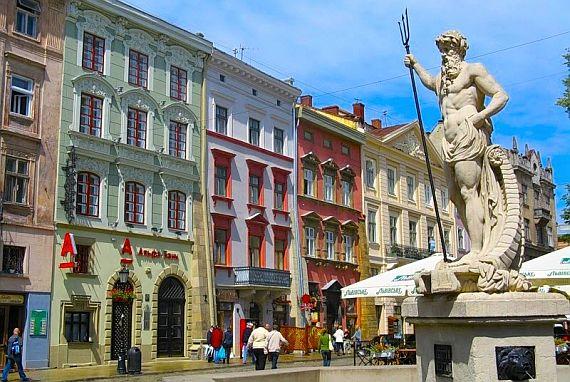 Город музей Львов
