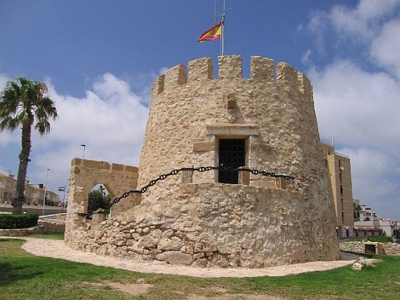 Город Торревьеха Испания