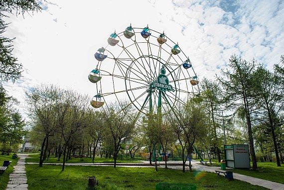 Центральный парк в Красноярске