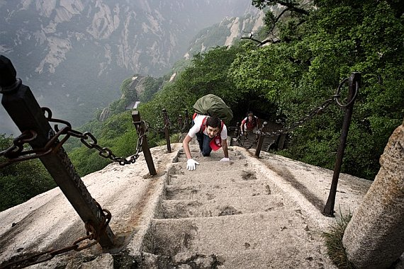 Хуашань в Китае