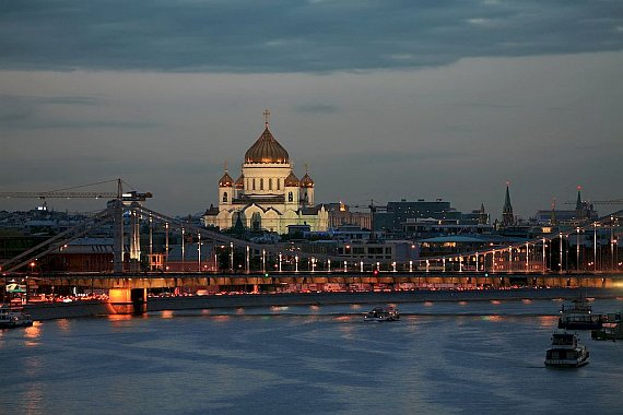 Прогулки по мостам Москвы