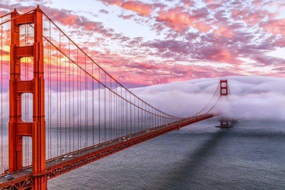 Золотые ворота в Сан - Франциско