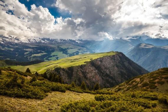 Горы Заилийского Алатау