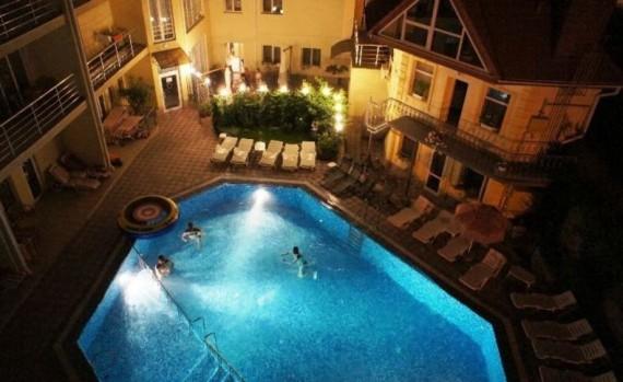 Отель Затышный