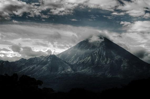 Вулкан Санта Мария в Гватемале