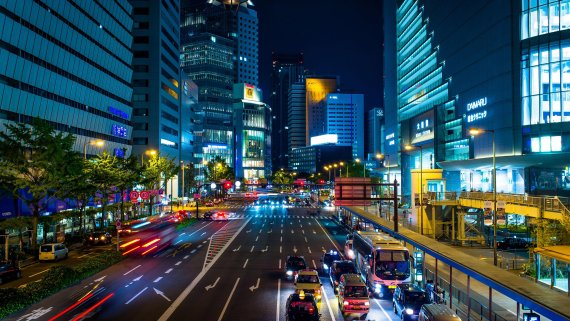 Город Осака. Япония