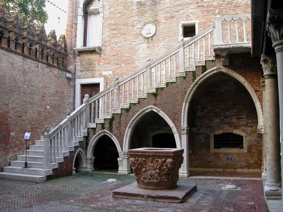 Дворец Ка д Оро. Италия