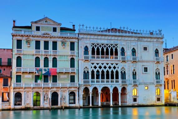 Дворец в Италии Ка д Оро
