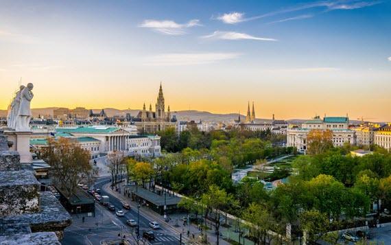 Вена красивый город