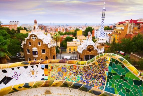 Выходные за границей. Барселона