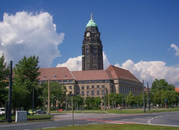 Дрезден ратуша