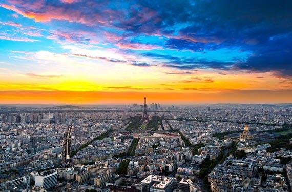 Париж – город контрастов