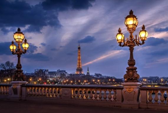 Удивительный город Париж
